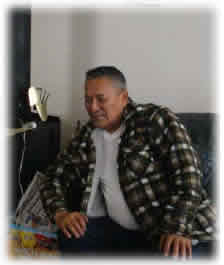 Photograph of Michael Pascal Sr, a Gwich'in elder.